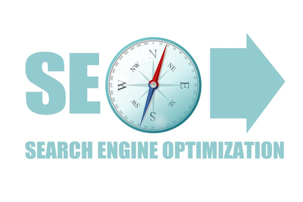 Picture depicting SEO as compass
